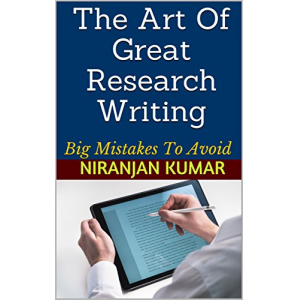 The Art Of Great Research Writing: Big Mistakes To Avoid