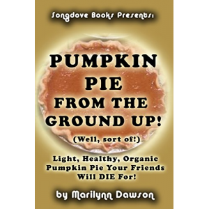 Pumpkin Pie From the Ground Up! (Well, Almost!): Light, Healthy, Organic Pumpkin Pie Your Friends Will DIE for!