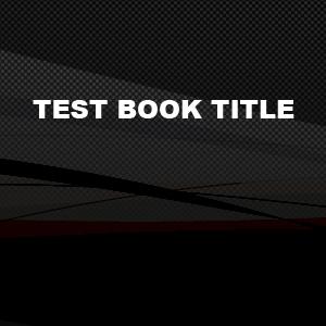 Test Book Title