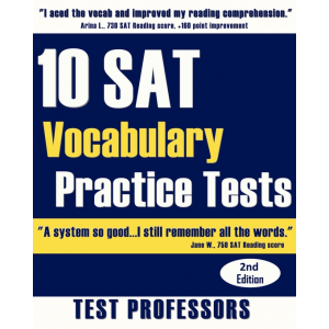 10 SAT Vocabulary Practice Tests (2nd Edition)