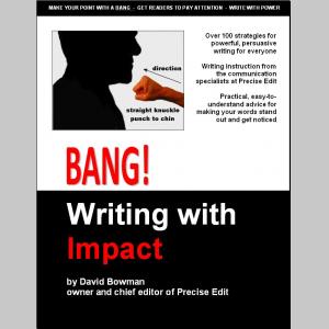 Bang! Writing With Impact