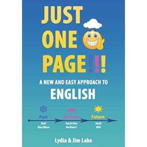 Just One Page!!!: A New and Easy Approach to English