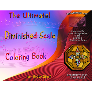 The Ultimate! Diminished Scale Coloring Book