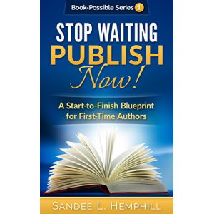 Stop Waiting - Publish NOW!: A Start-to-Finish Blueprint for First-Time Authors (Book-Possible Book 1)