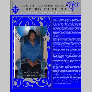 T.R.U.T.H Conference 2010 Souvenir Journal