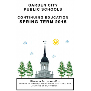 CONTINUING EDUCATION SPRING 2015