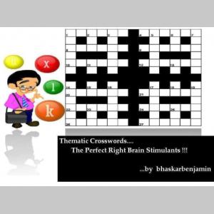 Thematic Crosswords : The Perfect Right Brain Stimulants