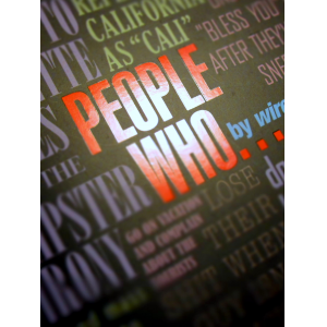 PEOPLE WHO...