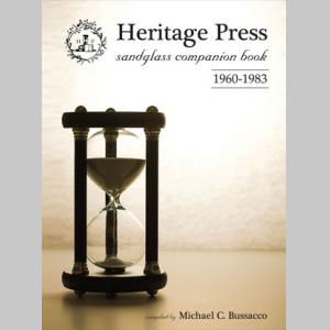 Heritage Press: Sandglass Companion Book 1960-1983