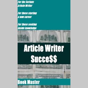 Article Writer Success