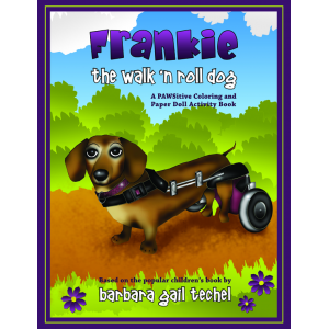 Frankie the Walk 'N Roll Dog Coloring and Paper Doll Activity Book