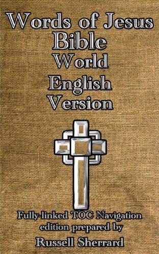 Words of Jesus Bible - World English Version