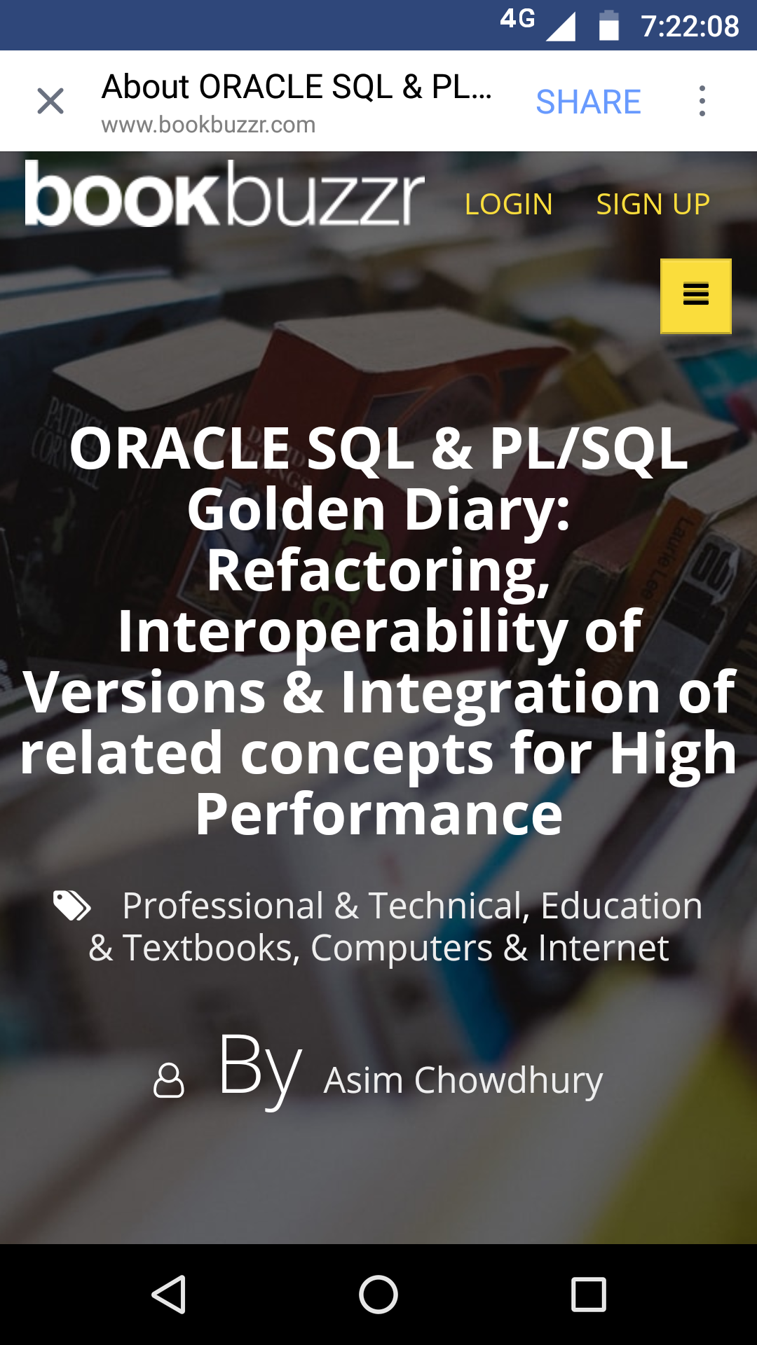 Oracle SQL & PL SQL Book for beginners and advanced also