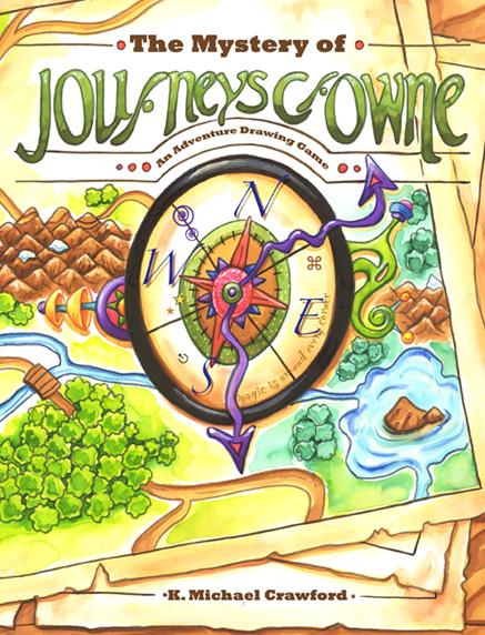 The Mystery of Journeys Crowne- An Adventure Drawing Game
