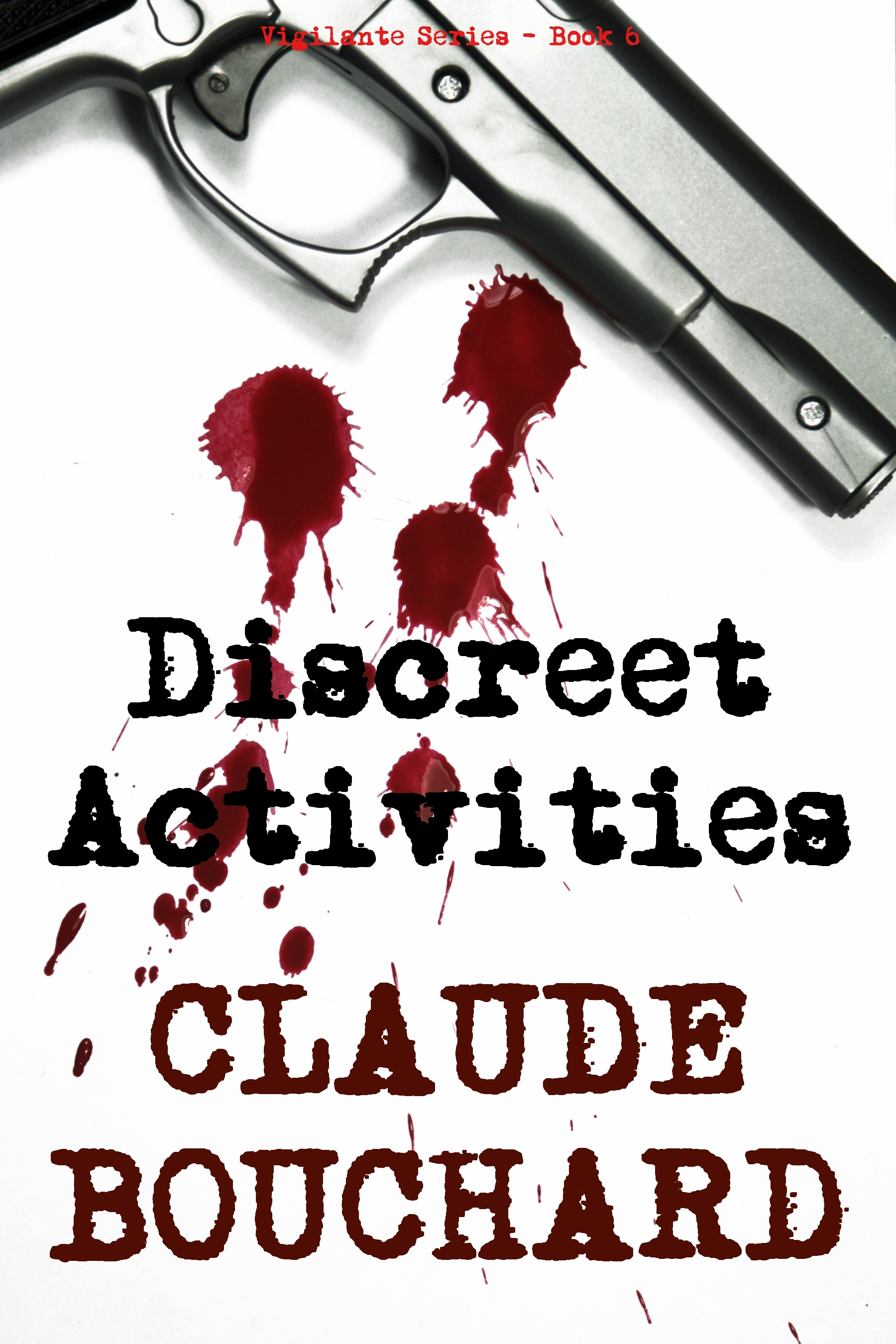 Discreet Activities (VIGILANTE Series - Book 6)
