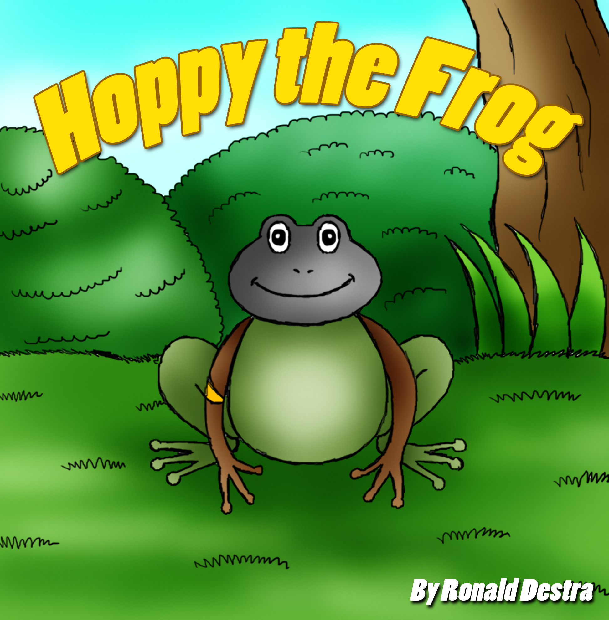 Hoppy the Frog (Frog and Princess Books about Courage and Determination)
