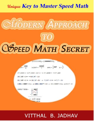 Modern Approach to Speed Math Secret