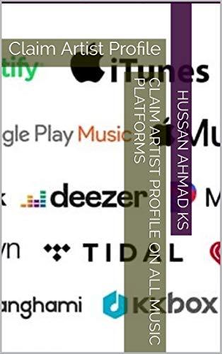 Claim Artist Profile On All Music Platforms: Claim Artist Profile