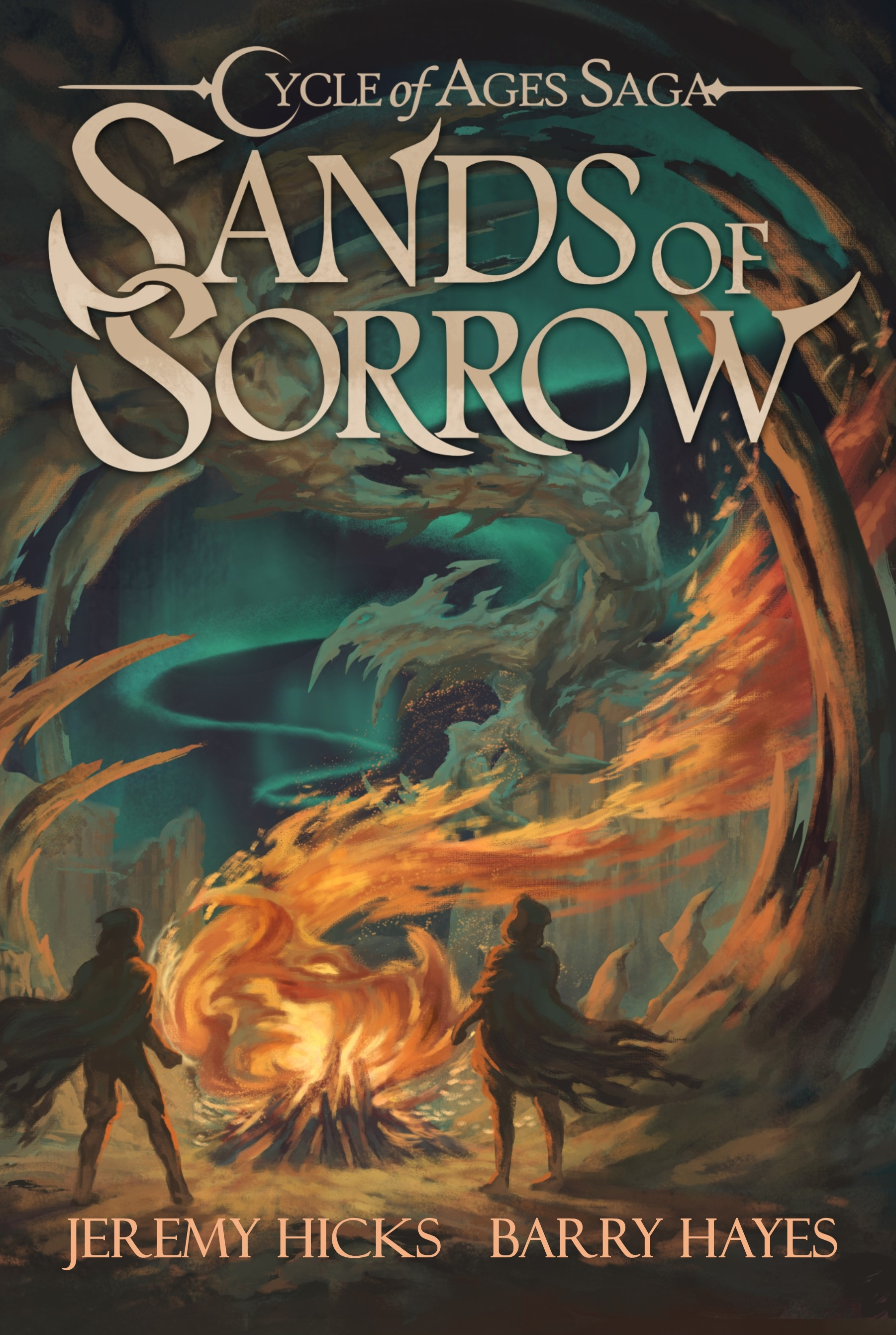 Cycle of Ages Saga: Sands of Sorrow (Volume 2)