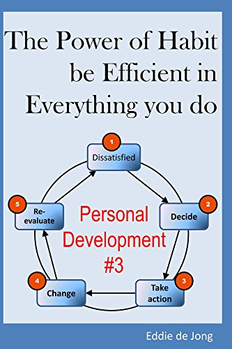 The Power of Habit: be Efficient in Everything you do (Personal Development for Beginners Book 3)