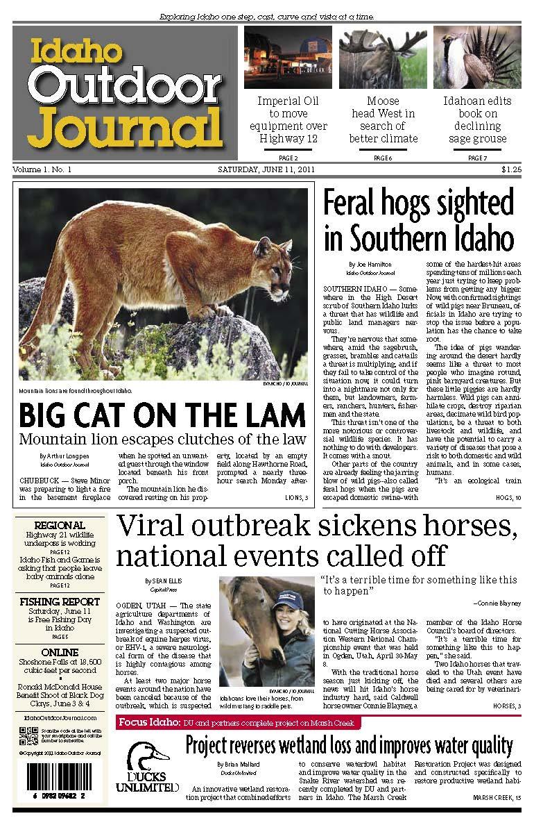 Idaho Outdoor Journal