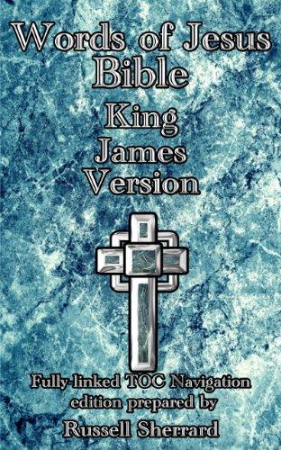 Words of Jesus Bible - King James Version