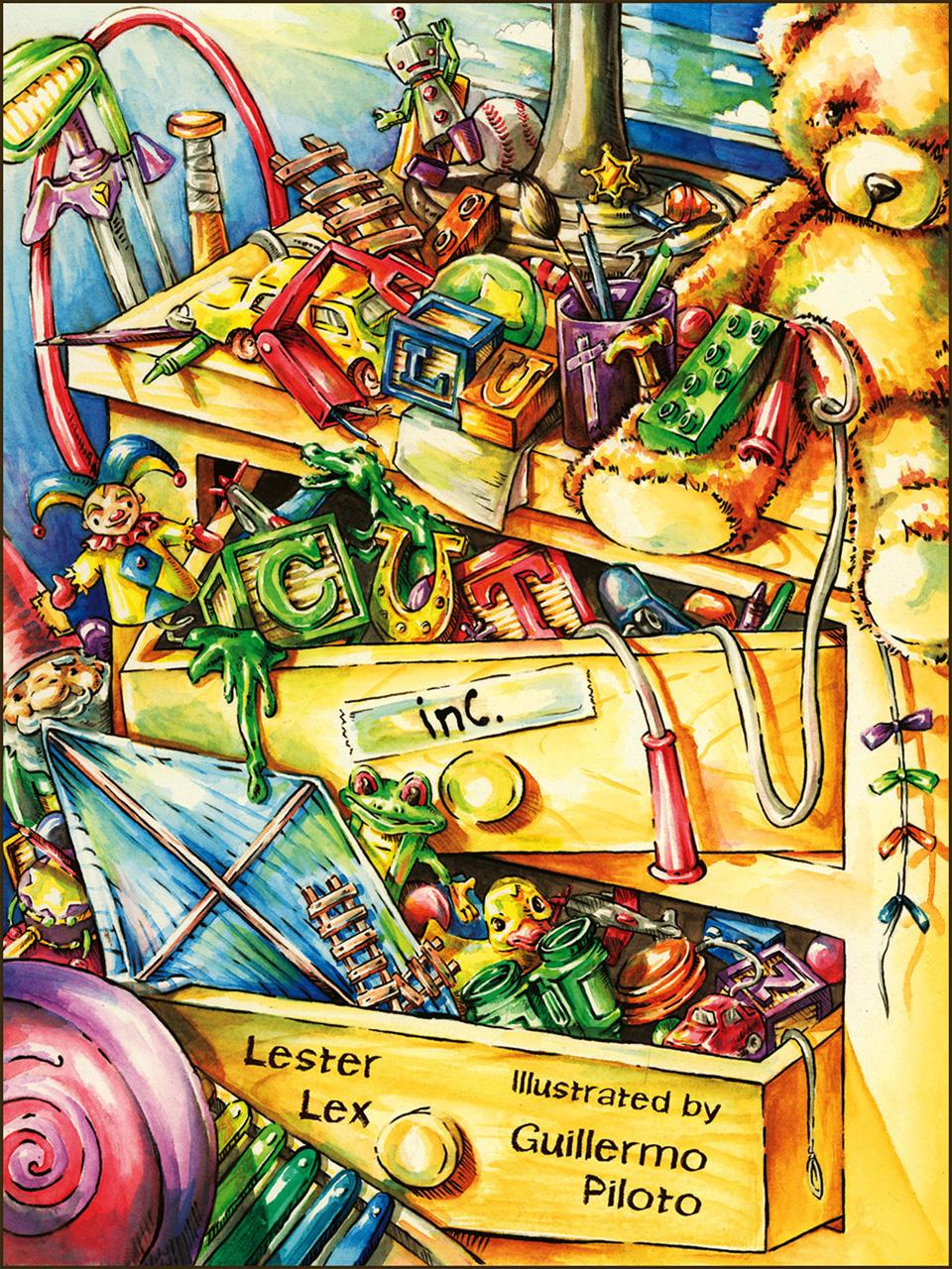 Clutter Cut, Inc. (A Fun Rhyming Picture eBook for Kids)