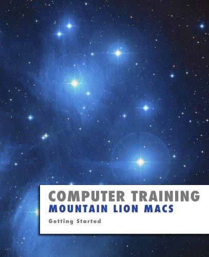 Mountain Lion Macs (Computer Training)
