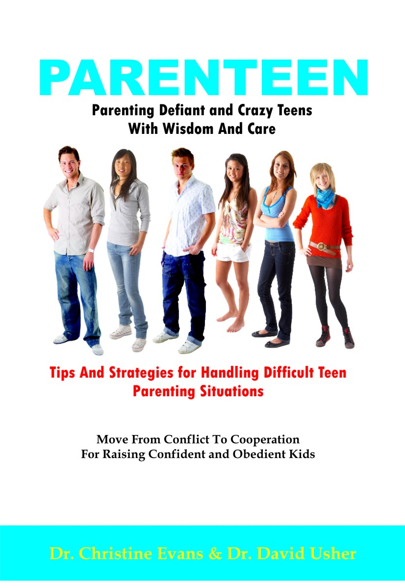 PARENTEEN - Parenting Defiant and Crazy Teens With Wisdom and Care - Tips And Strategies for Handling Difficult Teen Parenting Situations - Move From Conflict ... For Raising Confident and Obedient Kids (Paperback)