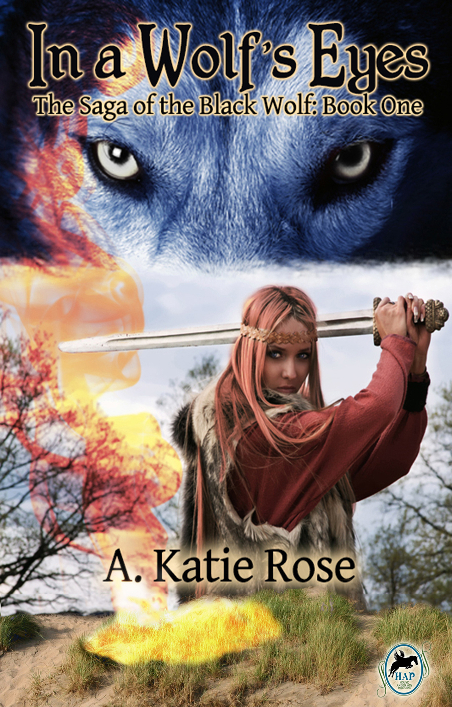 In a Wolf's Eyes (The Saga of the Black Wolf Book One)