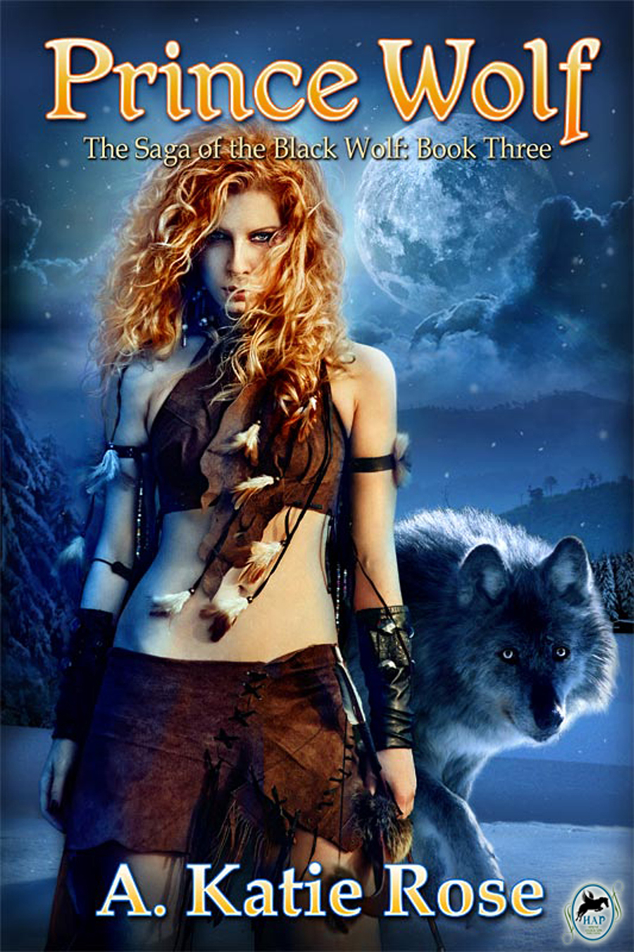 Prince Wolf: Saga of the Black Wolf, Book Three