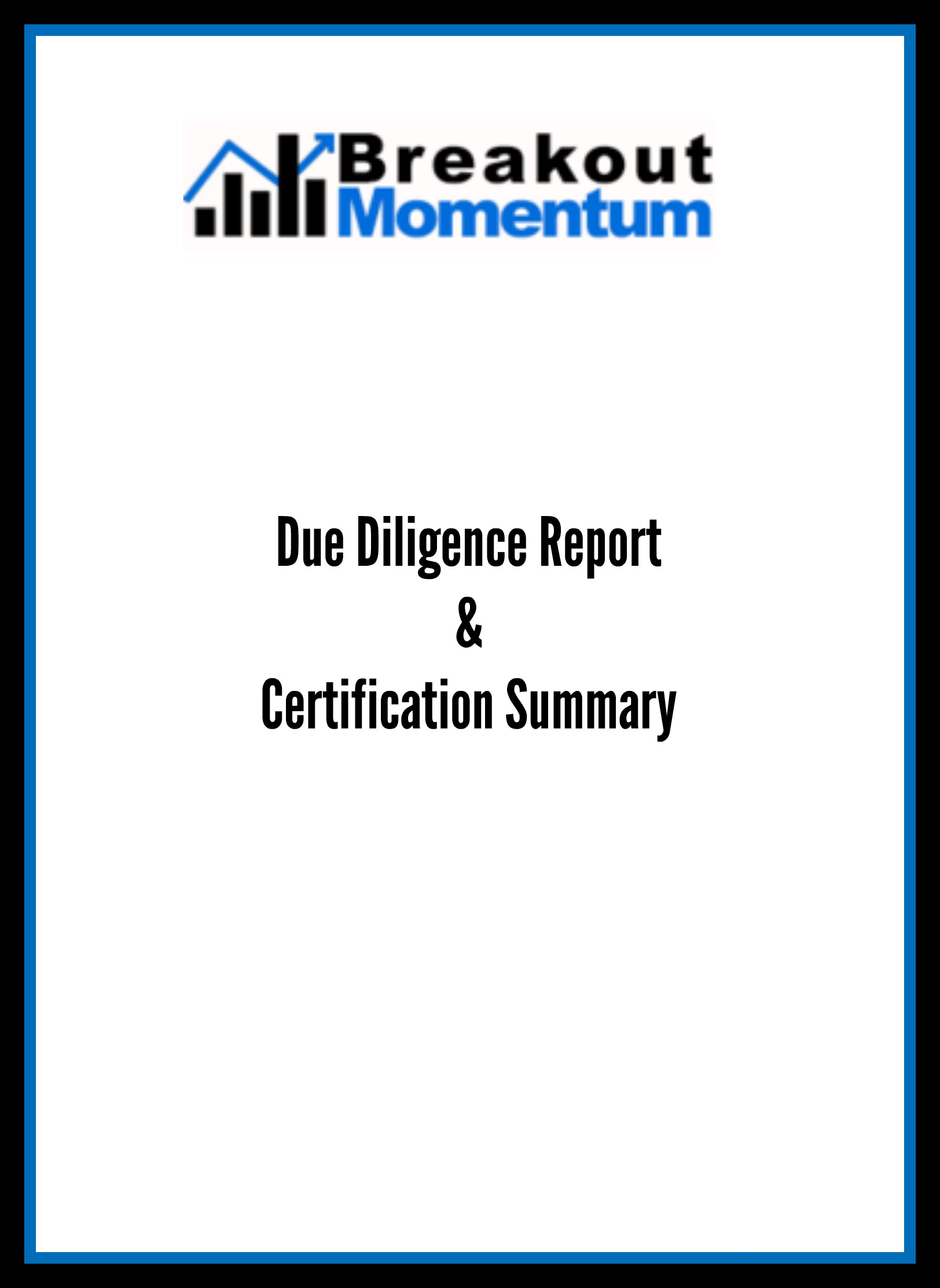 Breakout Momentum Due Diligence Report