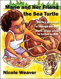 Marie and Her Friend the Sea Turtle